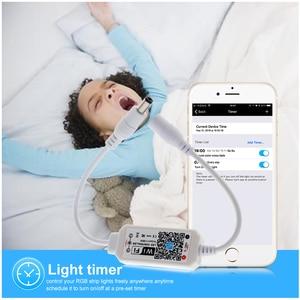 Image 4 - קסם בית DC5 28V אלחוטי מיני WiFi Dimmable בקר יחיד צבע LED בקרים עבור 2835 5050 5630 5730 LED רצועת אור