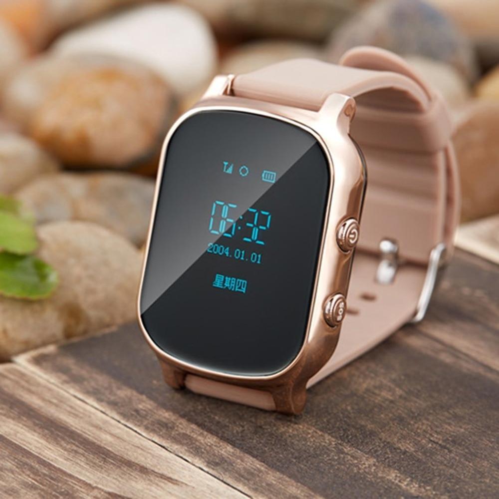 Gps трекер Смарт-часы T58 для детей gps браслет карт Google SOS lbs-трекер Gsm gps GPRS локатор часы Smartwatch