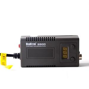 Image 3 - BAKON 75W 950D electric soldering iron portable digital display constant temperature soldering station anti static T13 tip US EU