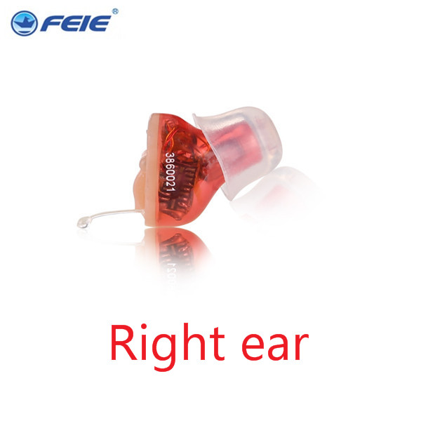 As Seen On Tv Micro Digital amplifier Volume hearing aid Mini CIC Sound Amplifier In The Ear S-10B  free shipping