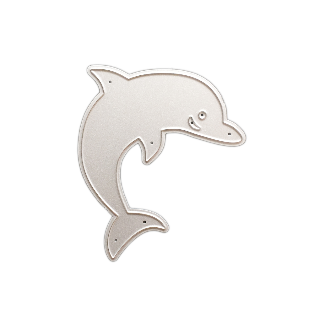 Aliexpress buy dolphin diy cutting dies stencil scrapbook aliexpress buy dolphin diy cutting dies stencil scrapbook album art paper card embossing craft template scrapbooking ornament for christmas from pronofoot35fo Choice Image