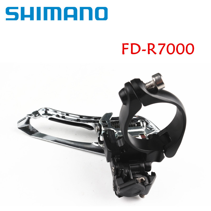 Shimano 105 R7000 2x11 Front Derailleur Braze On/34.9 Clamp Black