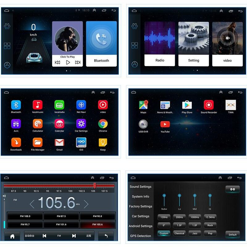 Auto 10,1 Zoll Multimedia MP5 Player Audio Radio Bluetooth WIFI GPS Navigation NJ88