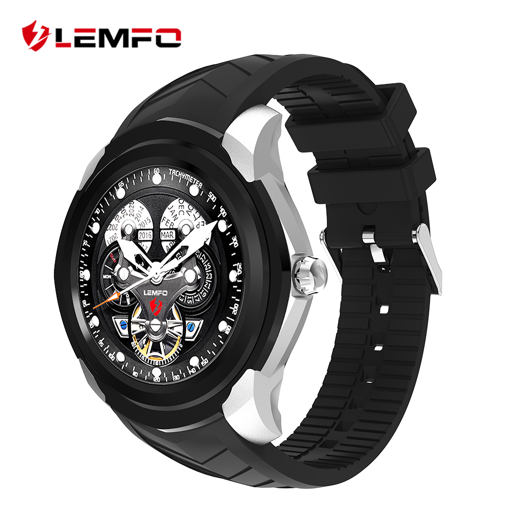 LEMFO LF17 Android 5.1 Smart Watch 512MB + 4GB Support TF Card Heart Rate Monitor GPS Wifi Bluetooth Smartwatch new lf17 smart watch