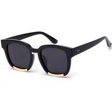 Gafas de Sol Cuadradas vendimia 5 Colores Mujeres de Los Hombres del Estilo Coreano de Colores UV400 Gafas de Sol