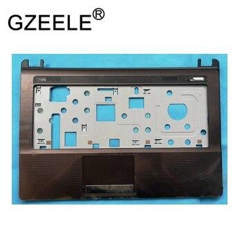 GZEELE usado para Asus X43B X43U K43T K43TK K43U K43TA cubierta de reposamanos para portátil carcasa superior teclado bisel sin panel táctil