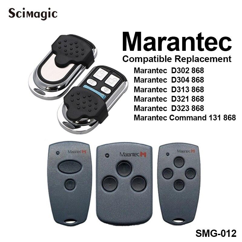2pcs Duplicator Marantec Digital D302 Two Button 868.3 Mhz Remote Control Keyfob Transmitter Marantec Digital 382 868.3mhz
