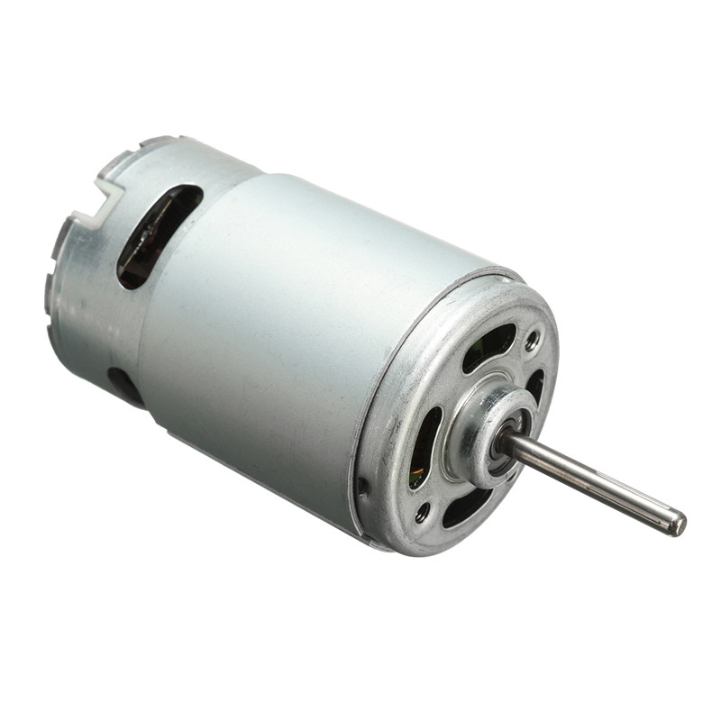 цена на 555 DC Motor 12-24V large torque Drill & Ball Bearing & Screwdriver Tool Motor Best Price
