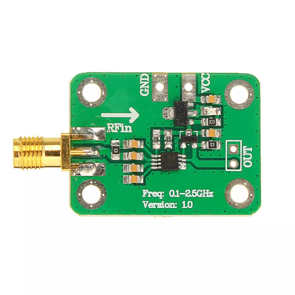 1Pcs 0.1 - 2.5Ghz Rf Power Meter Logarithmic Detector Power Detection Dh