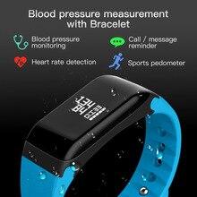 Смарт-браслеты R3 сердечного ритма Приборы для измерения артериального давления крови кислородом оксиметр измерение калорий, шагомер спорт браслет для IOS Android