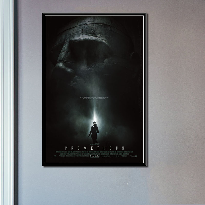 P510 Прометей Новый Alien фильм серии классический фильм ужасов художественная живопись Шелковый Холст плакат настенный домашний декор|Рисование и каллиграфия|   | АлиЭкспресс