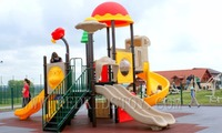 Exported to Cambodia Kids Favorite Playground Set for Preschool CE Certified HZ-15202b