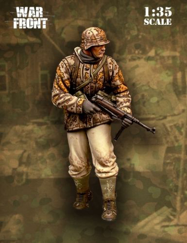 1/35 Panzergrenadier Ardennes Toy Resin Model Miniature Kit Unassembly Unpainted