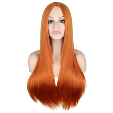Long Straight Middle Part Wig For Women