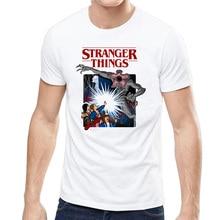 2019 Fashion stranger things tshirt men summer casual harajuku demogorgon upside down t-shirt funny horror scare camiseta