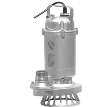 32WQP4-10-0.55  screw thread stainless stell Corrosion resistant submersible pump  220V 50HZ