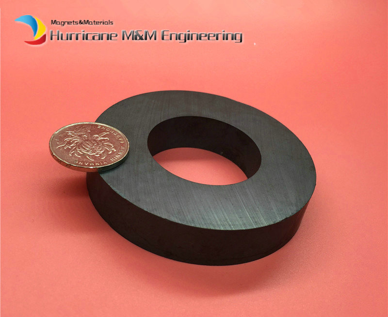 Ferrite Magnet Ring OD80xID40x15 mm 3 large grade C8 Ceramic Magnets for DIY Loud speaker Sound Box board Subwoofer 12 x 1 5mm ferrite magnet discs black 20 pcs