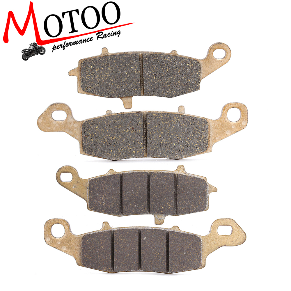 Motoo - Motorcycle Front and Rear Brake Pads For KAWASAKI VN800 Drifter 1999-2006 VN900 Vulcan classic 2006-2014 motorcycle front and rear brake pads for for kawasaki vn 1700 vn1700 vulcan vaquero 2011 2014 black disc pad