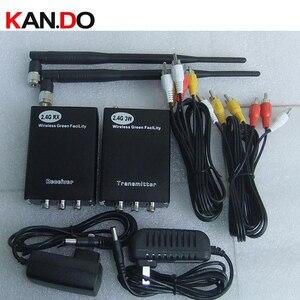 Image 1 - Transmisor para Dron de 2W y 8 canales, 2,4G, 2400Mhz, 2,4G, receptor de audio y vídeo inalámbrico, transmisor FPV de cámara de 2400mhz