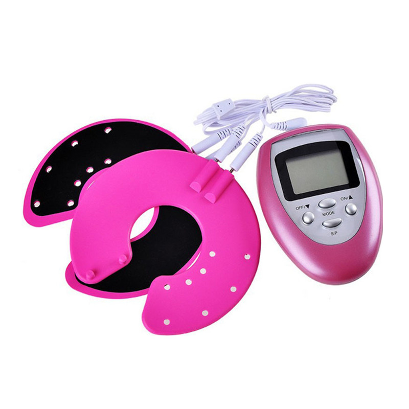 Health Beauty Care Electric Chest Bust Vibrating Breast Massager Bra Enlargement Enhancer Machine Tens Therapy Body Massage 1 pcs remove wrinkles dark circles massage tens machine beauty tens face and eye massager health care massagers