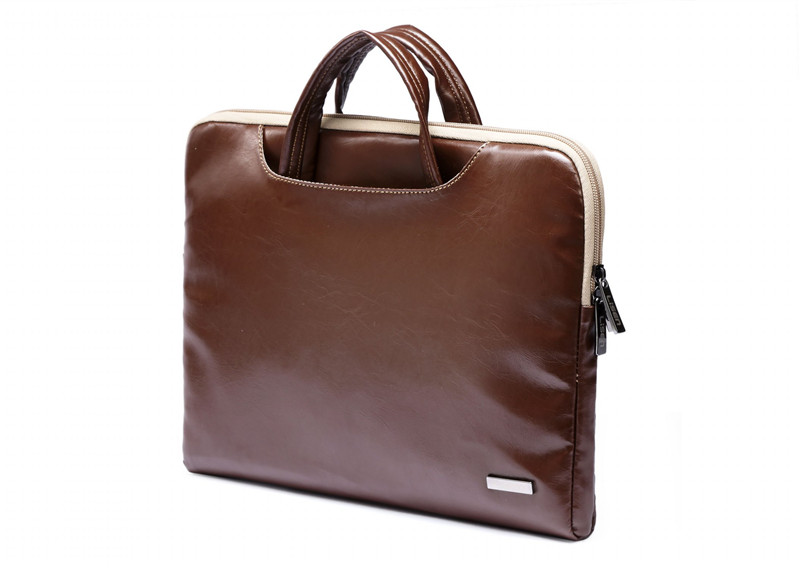 """Image 5 - 2019 New Brand Lisen Leather Handbag Bag For Laptop 11"""",13"""",15"""",15.6 inch,Case For MacBook Air,Pro 13.3"""",15.4""""Free Drop Shipping-in Laptop Bags & Cases from Computer & Office"""