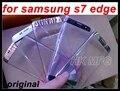 S7 край Стекла оригинальный Сенсорный Экран Стекло защитное Стекло объектива для samsung S7 edge G9350 оригинальная передняя Стекло Оригинальное 5 цвета
