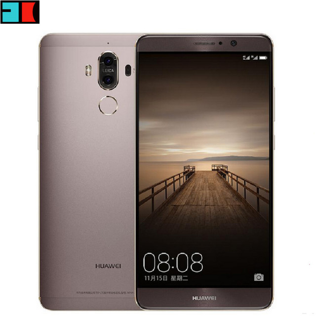 Original Huawei Mate 9 4G LTE Mobile Phone Android 7.0 Octa Core 5.9″ FHD 6GB RAM 128GB ROM 20.0MP NFC Dual Camera Cellphone