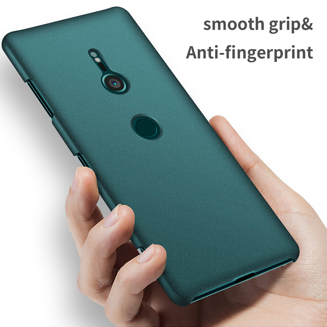 factory price 6ea18 ba27e US $3.94 6% OFF|For Sony Xperia XZ3 Case Luxury High quality Hard PC Slim  Coque Matte Skin Protect Back cover cases for sony xz3 phone shell-in  Fitted ...