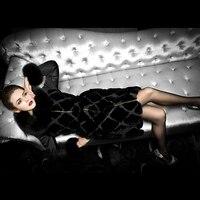 Классический Люкс 2017 зимняя куртка Для женщин вниз Куртки кролика рекс лиса меховая куртка Тонкий длинное пальто Для женщин верхняя одежда
