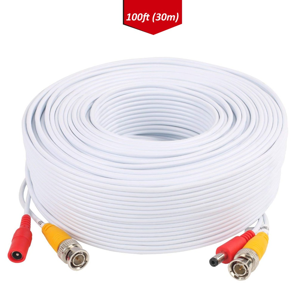 Tonton 30M BNC RCA Cable CCTV Camera POE BNC+DC Connector Coaxial Cable BNC RCA Connector Splitter Bnc Crimp CCTV Accessories