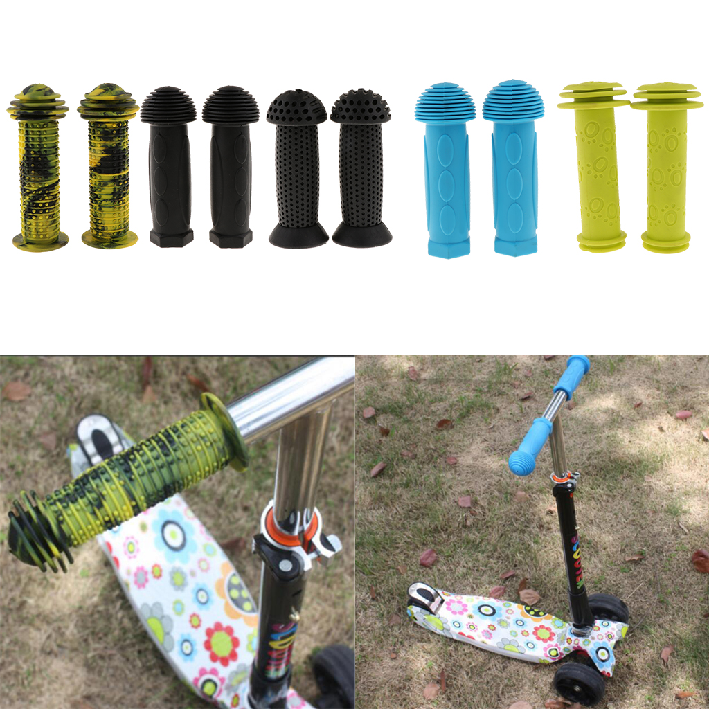 Details about  /Bike Handlebar Grips for Kids Girls Boys Non-Slip Rubber Bicycle Grips for