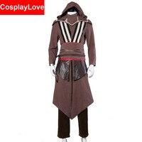 Assassin S Creed Callum Lynch Aguilar De Nerha 2016 Movie Cosplay Costume Stock Cusotm Made For