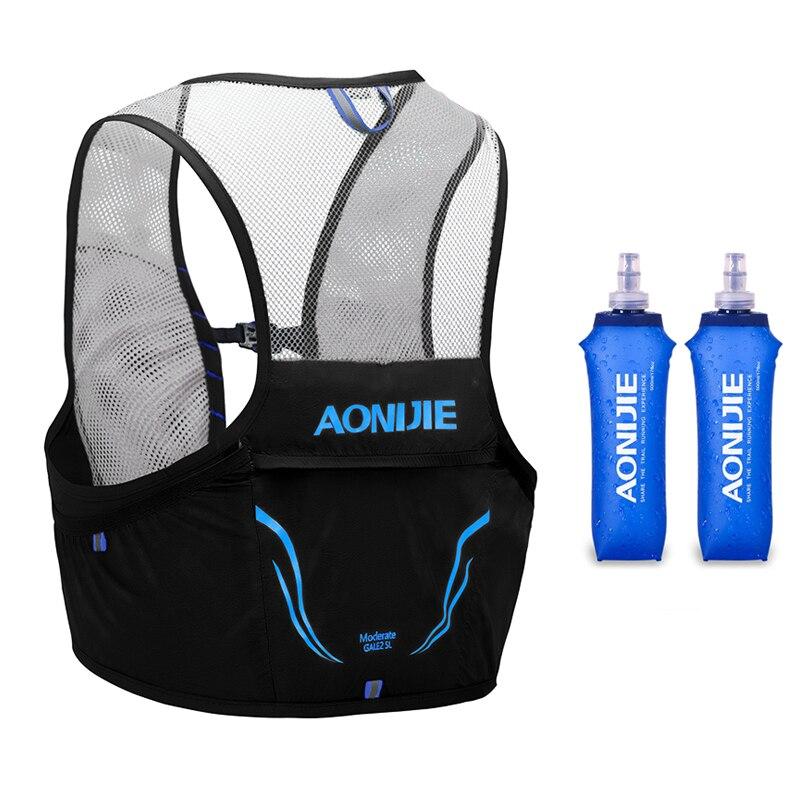 Aonijie mochila leve correndo colete saco de náilon ciclismo maratona portátil ultraleve caminhadas 2.5l
