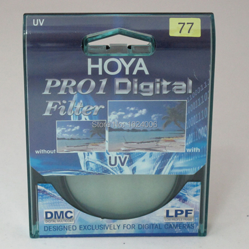 цена на Hoya PRO1 Digital UV 77mm Optical Glass Lens Protector Ultra-Violet UV Filter MRC Circular Filtre UV For SLR Camera Lens