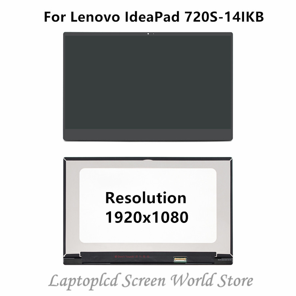FTDLCD/® 14 IPS LED LCD Touch Screen Digitizer For Lenovo IdeaPad 720S-14IKB 1920x1080
