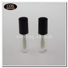 LT006-1.5ml пустой прозрачный блеск для губ трубку с щеткой, 1.5 мл блеск для губ упаковки, Пустые Ясно Блеск для губ трубки оптом