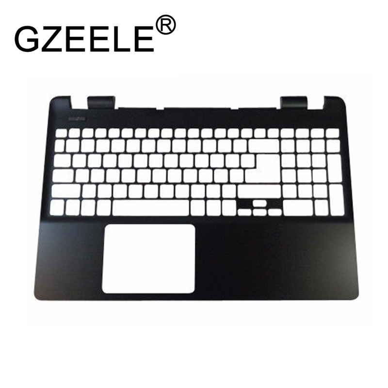 GZEELE new for Acer Aspire E5-511 E5-521 E5-551 E5-571 Replacement Laptop Palmrest upper case Keyboard bezel wzsm original usb board with cable for acer aspire e5 521 e5 571 usb board ls b162p tested well