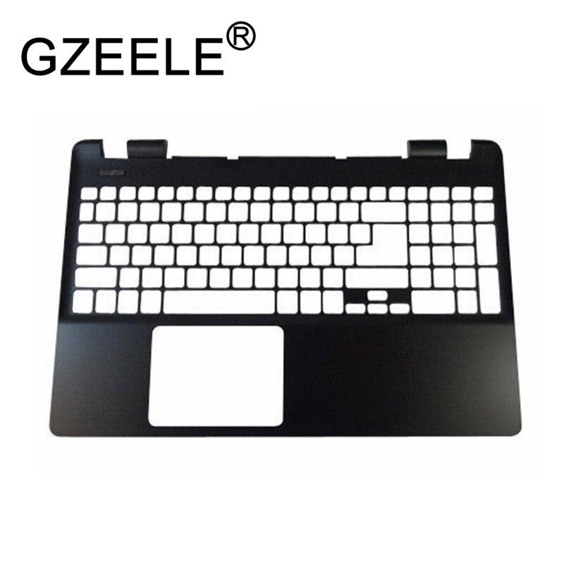 GZEELE used for Acer Aspire E5-511 E5-521 E5-551 E5-571 Replacement Laptop Palmrest upper case Keyboard bezel