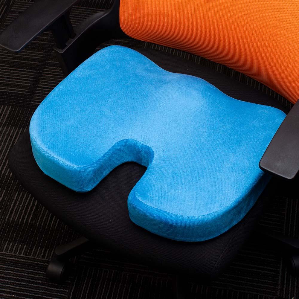 HTB1pGDMXzzuK1Rjy0Fpq6yEpFXae Travel Breathable Seat Cushion Coccyx Orthopedic Memory Foam U Seat Massage Chair Cushion Pad Car U-Shape Seat Cushion
