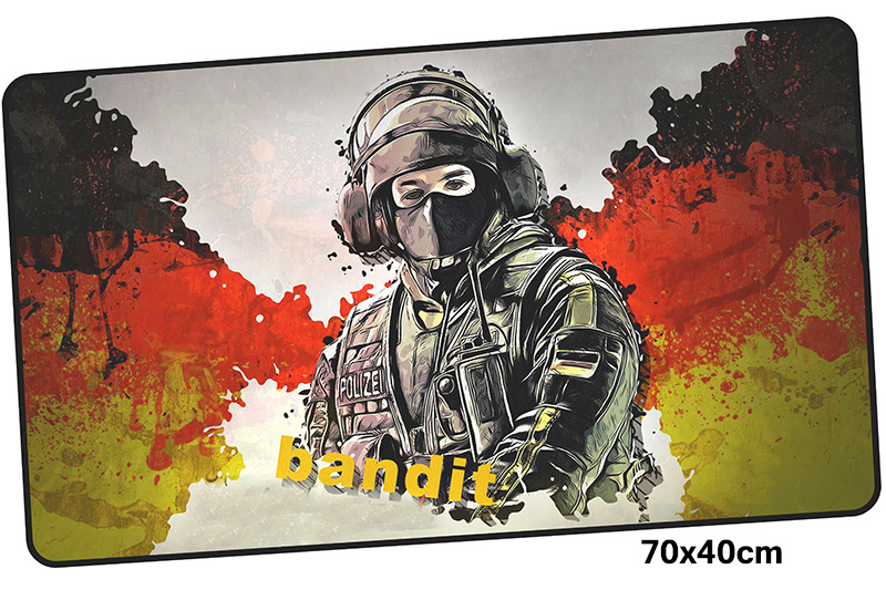 rainbow six siege mousepad gamer 700x400X3MM gaming mouse pad large gifts notebook pc accessories laptop padmouse ergonomic mat