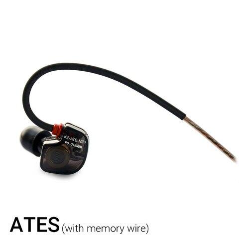 KZ ATE ATR HD9 ZS3E Copper Driver HiFi Sport Headphones In Ear Earphone For Running With Microphone Headset music Earbuds Karachi