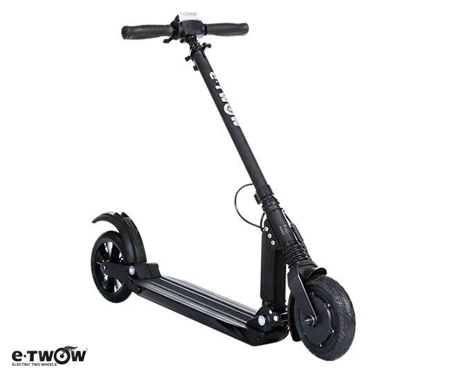 8.5AH 24 V e-twow scooter elétrico Original s2 etwow scooter elétrico MASTER 110 kg capacidade de carregamento 40 km por faixa