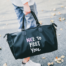 цены 2019 Korean Travel Bag women Large Capacity Business Men Luggage Bag Multifunctional Waterproof Female Travel Hand Bag