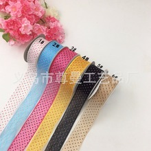 Ribbon 3.8cm Dot Clothing Accessories Gift Box Packaging Material Decoration With Ultrasonic Embossed Belt Sideband