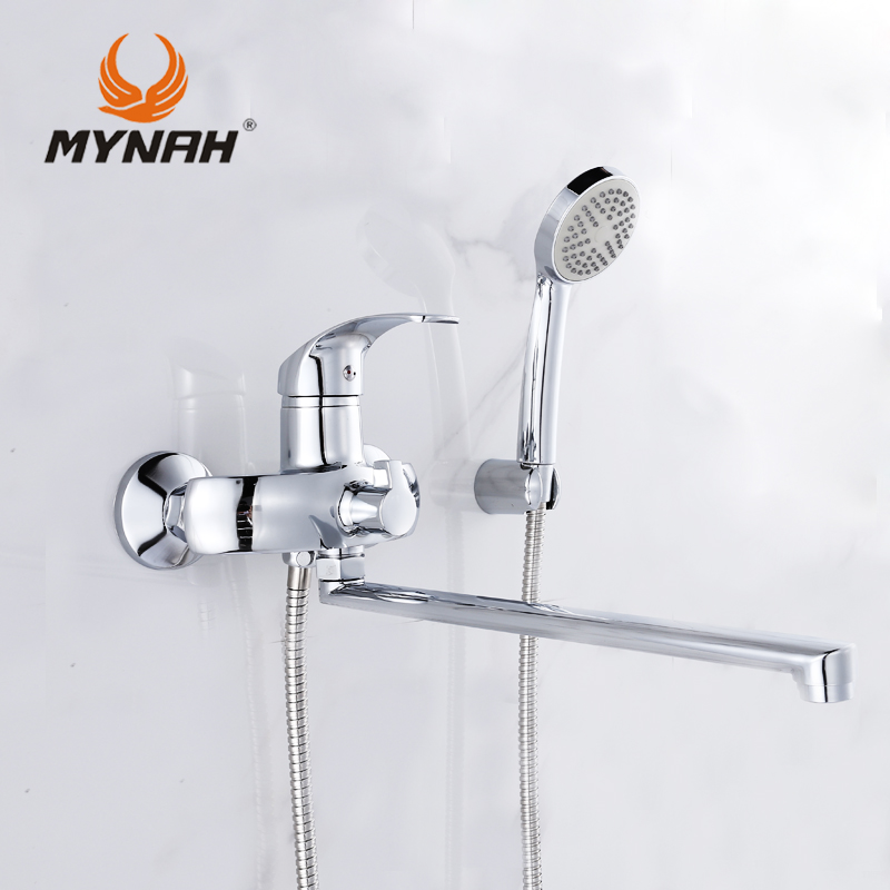 MYNAH M2203 Russia free shipping Shower system Tropical Shower Shower rack with mixer