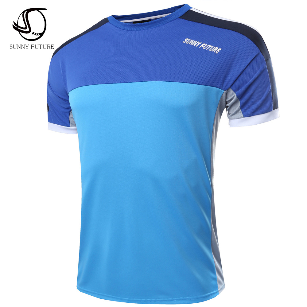 Sunny Future Top Quality Brand Clothing Casual T Shirt
