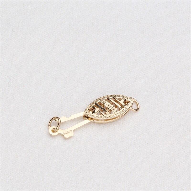 Fournitures de fabrication de bijoux connecteurs de mode fermoirs pour Bracelets colliers accessoires perles de bricolage résultats de bijoux