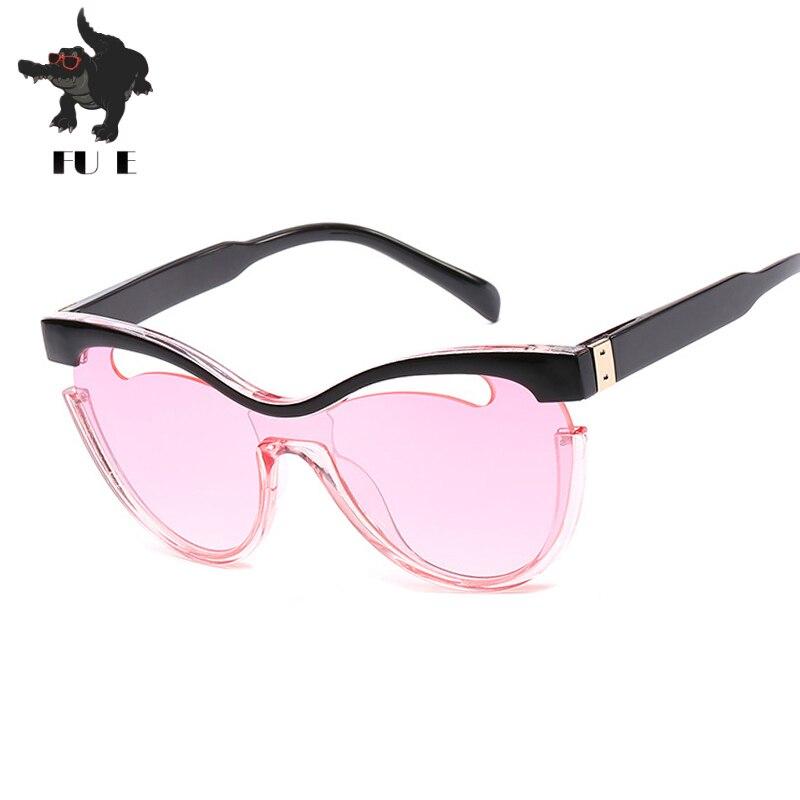 Фу бемоль Одежда высшего качества Новый Защита от солнца Очки для Для женщин Дизайн Oversize Солнцезащитные очки для женщин Для женщин Градиент…