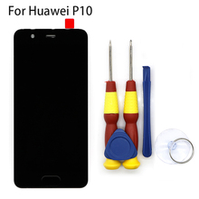 חדש מקורי מסך מגע LCD תצוגת LCD מסך עבור Huawei P10 החלפת חלקים + לפרק כלי + 3M דבק