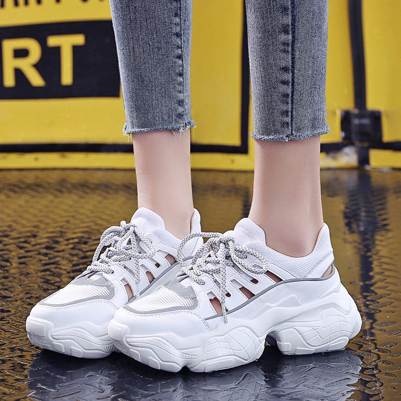 Summer Sandals 2019 Women Shoes Platform Sandals Summer White Womens Flat Sandalias -3244
